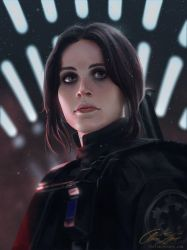 Jyn Erso - Star Wars: Rogue one. by ChrisBjors