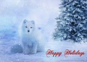 Holiday card 2 by DJMadameNoir