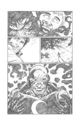 Solar Man of The Atom #11 page 14 Pencils by anthonymarques