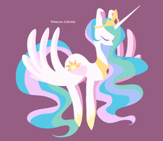 Princess Celestia by abc002310