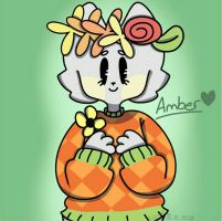 Amber ~Request~ by Ech0-draws