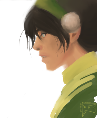 Toph Beifong by spaceboomerang