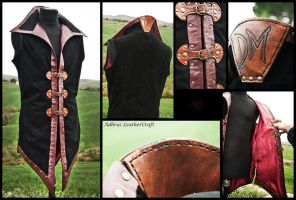 Leather Tunic II by Adhras