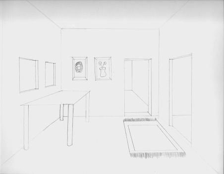 One point perspective by DFdirector