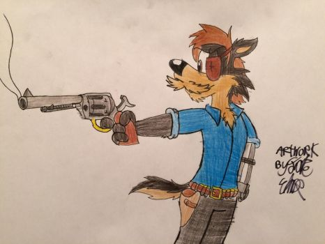Not Really a Peacemaker by Fox-Jake
