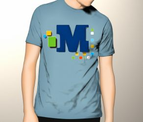 T-shirt mockup by jeffmcc1