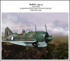 buffalo F2A 339 23 by dugazm
