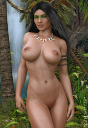 Jungle Girl by paultheslayer