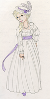 Chemise Dress, Colored by Ladyadokenai