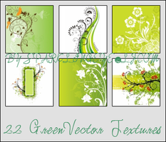 Green Vector Textures by sparkling-eye
