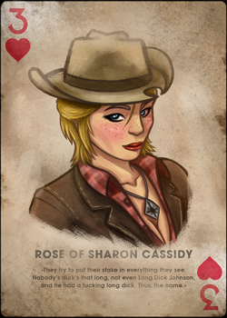 Cass, Three of Hearts by TheOmegaRidley