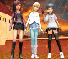 KH Girls Autumn Outfits Download by Lexalice