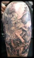 St Michael by state-of-art-tattoo