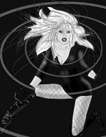 Black Canary by fosspathei