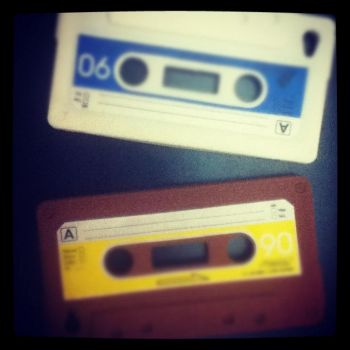 cassette cover for ipod by hoorshid7