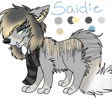 Ref-Saidie by RavingFoxie