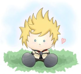 little plushie Roxas by BHK-lovers-club
