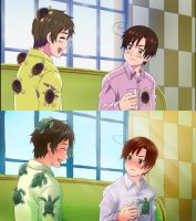 Hetalia Screenshot Redraw by sammich
