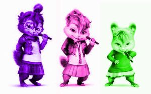the chipettes by alexandrta