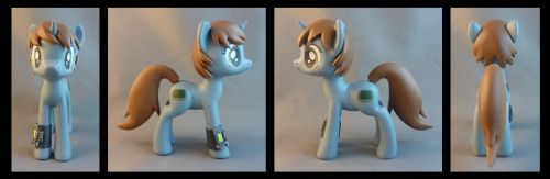 Littlepip with pipbuck by krowzivitch