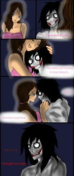 Jeff vs Jane the killer page 15 by Helen-RubiTH