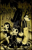 Bendy And The Ink Machine PRINT AND VIDEO IN DESC by Smudgeandfrank