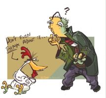 The chicken or the Ed? by Fealasy