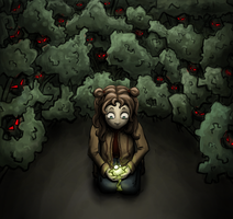 They are hidden in the forest by Adrakitt