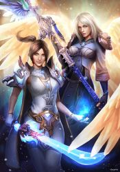 The mage and the priest by clayscence