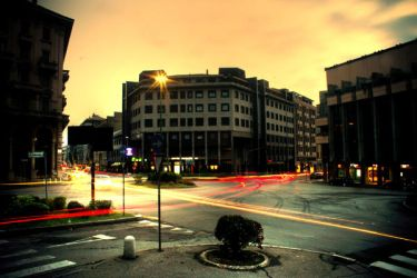 traffic long exposure by paoly81