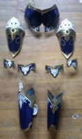 Aion Miragent Armor Set Plate - Cosplay 2 by Law-lie