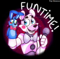 Funtime Freddy! by AnimatronicBunny