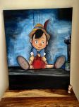 Pinocchio Painting by MicroPixels