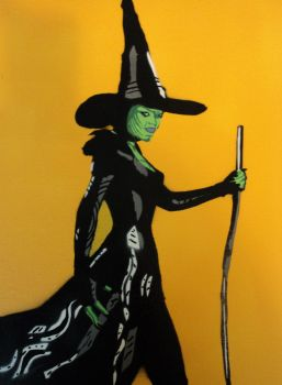 Wicked Witch of the West by mrphillup