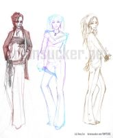 the ladies - 1 by lululinart
