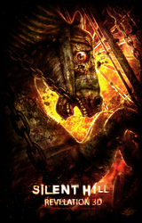 SILENT HILL REVELATION 3D - Fan Poster Contest by mlappas