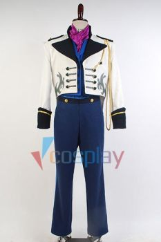 Prince Hans tail coat outfit frozen cosplay by cossteve