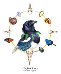 Magdelena the mean magpie by balaa