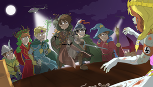 SP: Stick of Truth - Final Battle by pistachioZombie