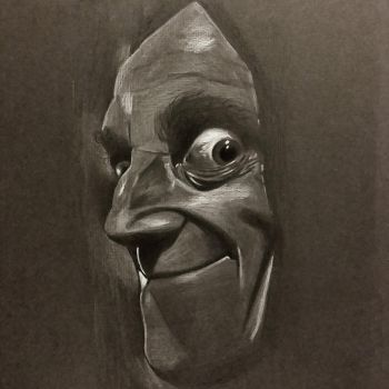 Marty Felman 'Eye-Gor' from Young Frankenstein by stuponitron