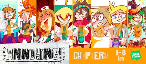 Annyoing Cover by demonbp