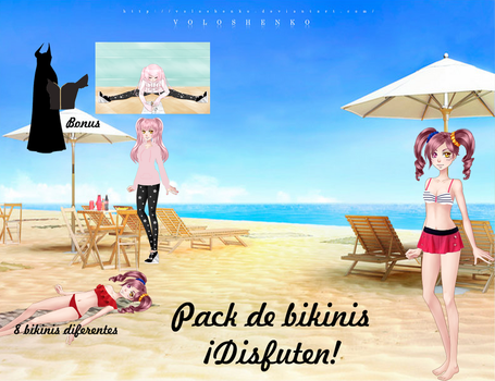 Pack de Verano by MicaelaW10000