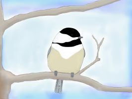 Chickadee  by FantasyArt99