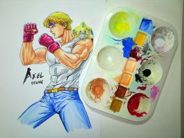 Streets of Rage - Axel Stone by AlexArtwork