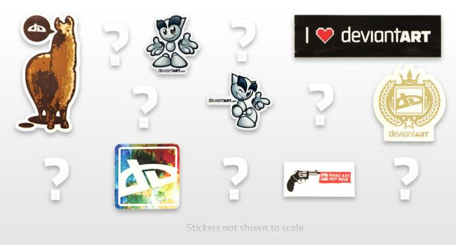 Mystery Sticker Pack by deviantWEAR