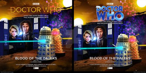 BigFinish Doctor Who Blood of the Daleks by GrantBattersby