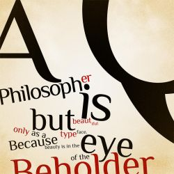 Typographic Philosophy by AoH-Silence