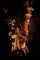 Fire Stock 040 by Malleni-Stock