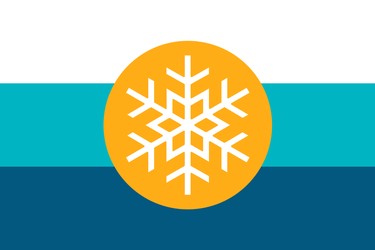 Flag of the Arctic by Mobiyuz