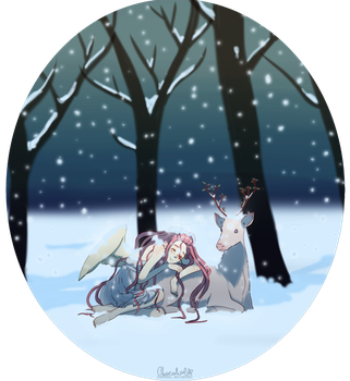Snow's Night by ChocoHal